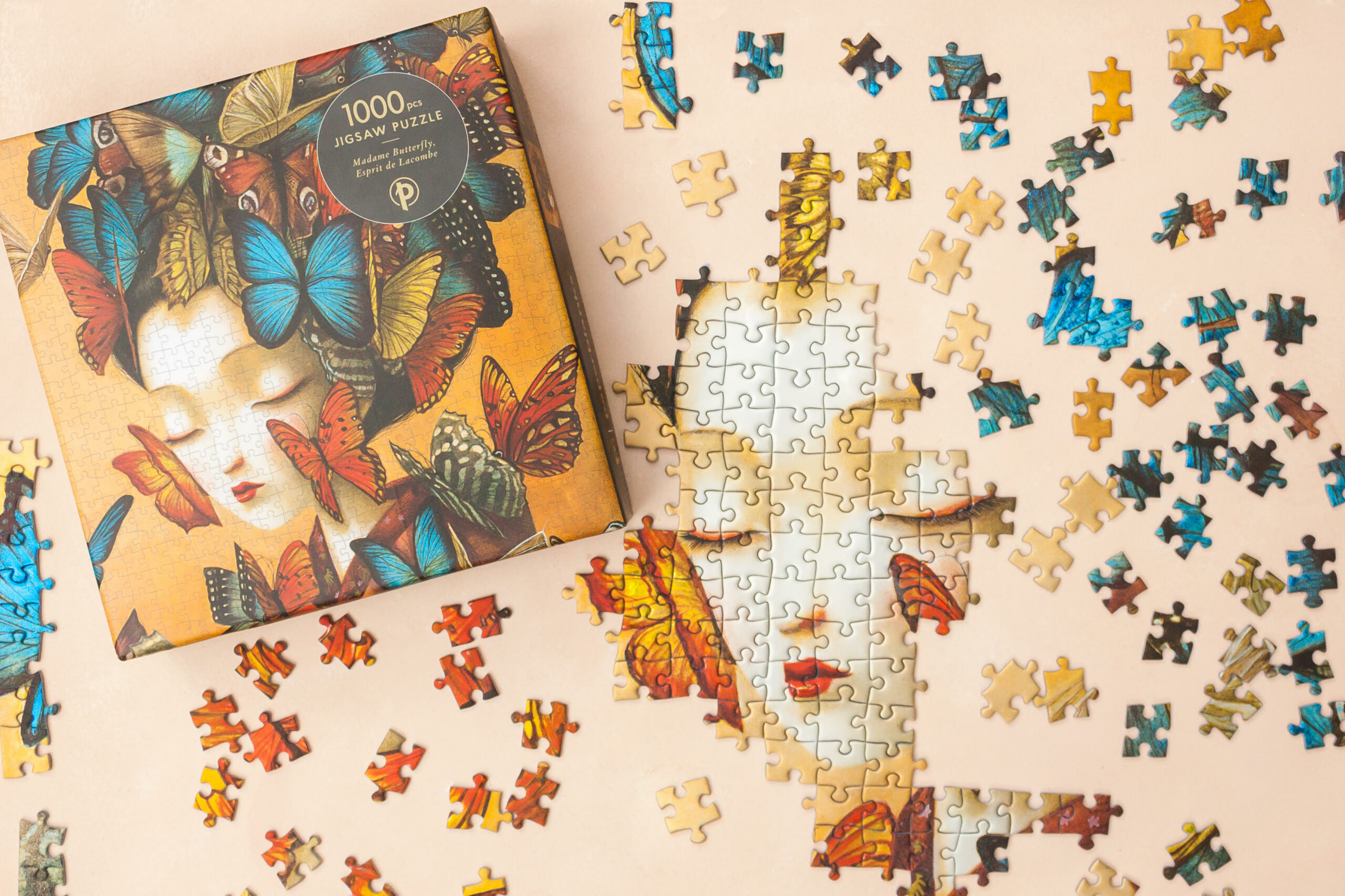 Paperblanks Madame Butterfly Puzzle