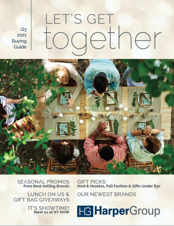"Harper Group's Q3 Buying Guide ""Let's Get Together"""